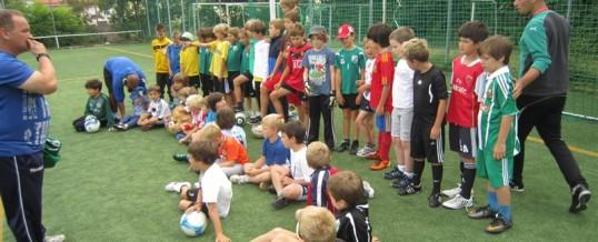 Fotostrecke Fußballcamp auf der Alm 2011