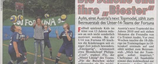 Bericht Kronen Zeitung vom 12.09.2011