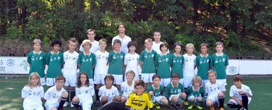 Neues Mannschaft Foto der U10