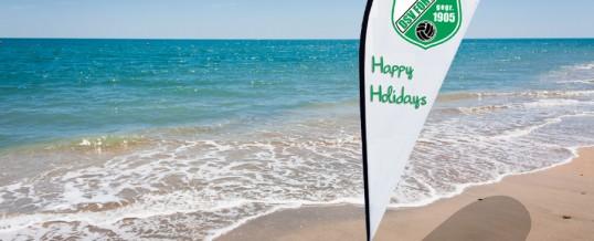 Schöne Ferien – Schönen Urlaub!
