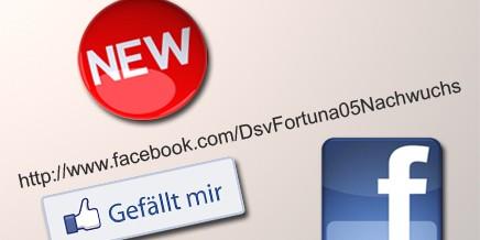 Neue Facebook Nachwuchs Seite