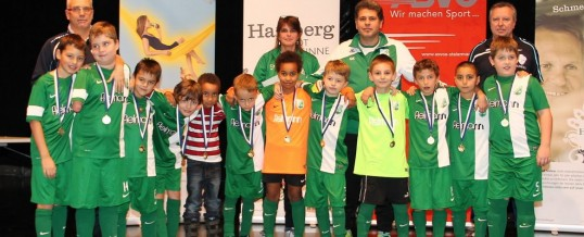 U9 beim internationalen Hallenturnier in Hartberg