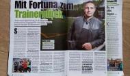 """""""Mit Fortuna Zum Trainerglück"""""""