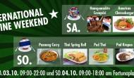 INTERNATIONAL CUISINE WEEKEND