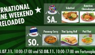 INTERNATIONAL CUISINE WEEKEND RELOADED